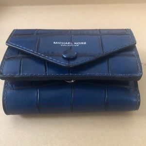 MK Collection:Wallet Crocodile Leather …